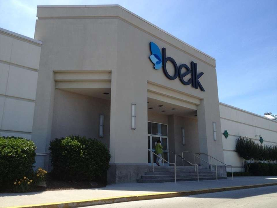Belk is an upscale department store that competes