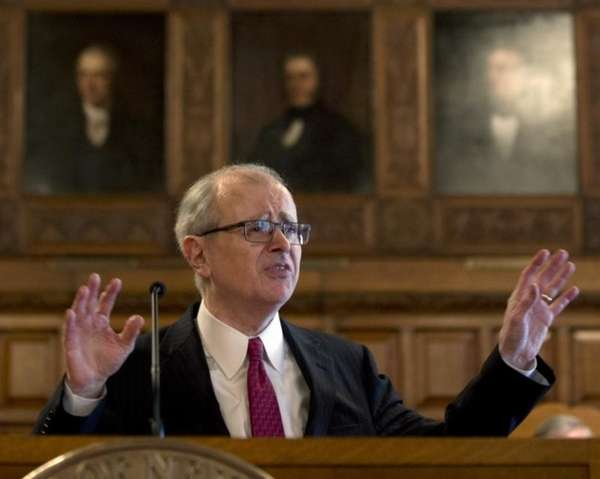 Chief Judge Jonathan Lippman delivers his State of