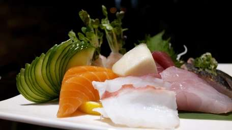 Sashimi dinner at Sushi Yume in Williston Park