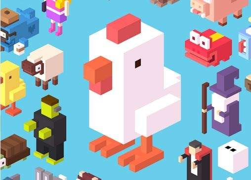 Crossy Road is an adorable, free game from