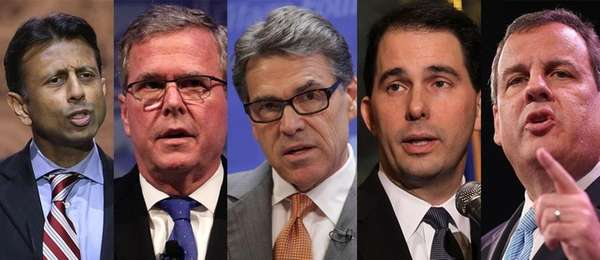 A composite photo of possible Republican presidential candidates