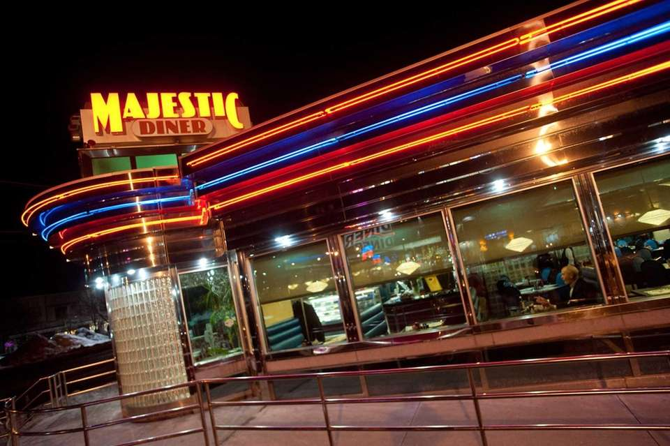 Majestic Diner, Westbury: During the week, co-owner Philip