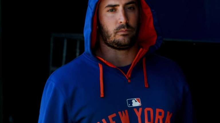 Mets pitcher Matt Harvey is seen during a