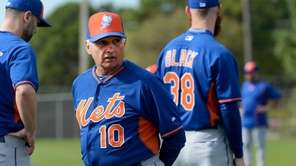 Mets manager Terry Collins looks on during a