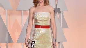 Nicole Kidman arrives at the 87th annual Oscars