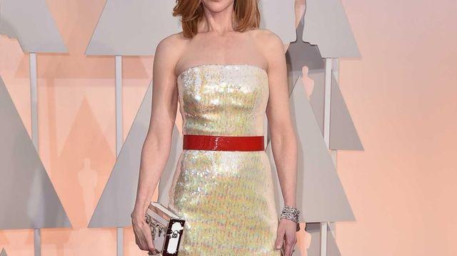 Nicole Kidman arrives at the 87th annual Oscars