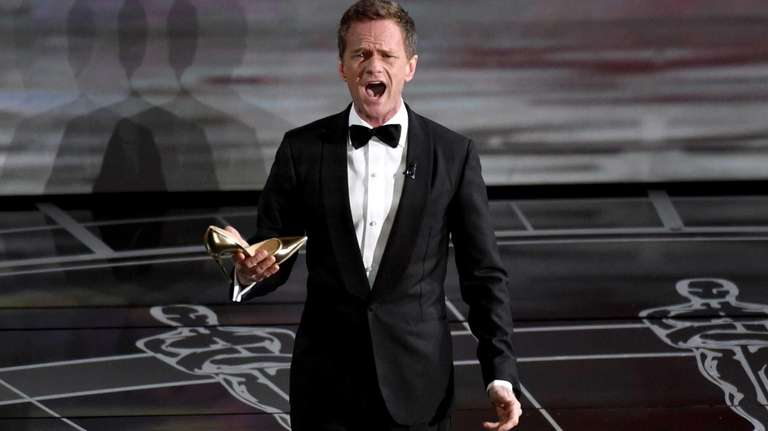 Host Neil Patrick Harris performs at the 87th