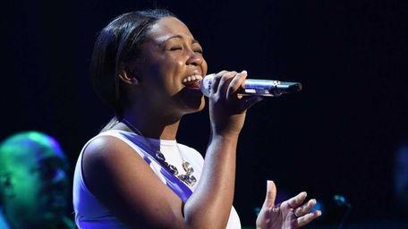 Sarina-Joi Crowe performs Jessie J's