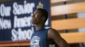Cheick Diallo of Our Savior New American looks
