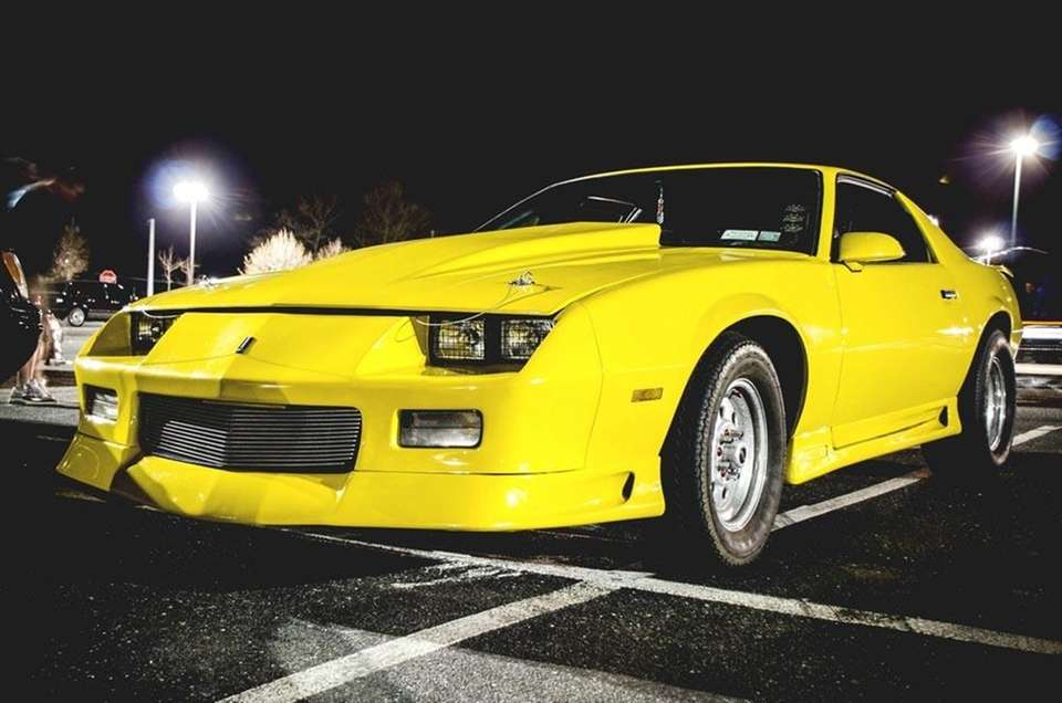 This 1984 Chevrolet Camaro Berlinetta is owned by