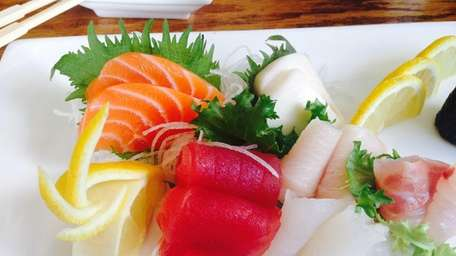 Sashimi lunch at Ichiban Sushi and Grill in
