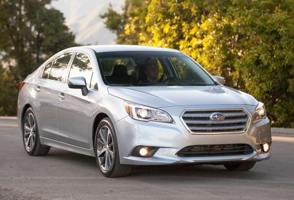 The 2015 Subaru Legacy earned the best mid-sized