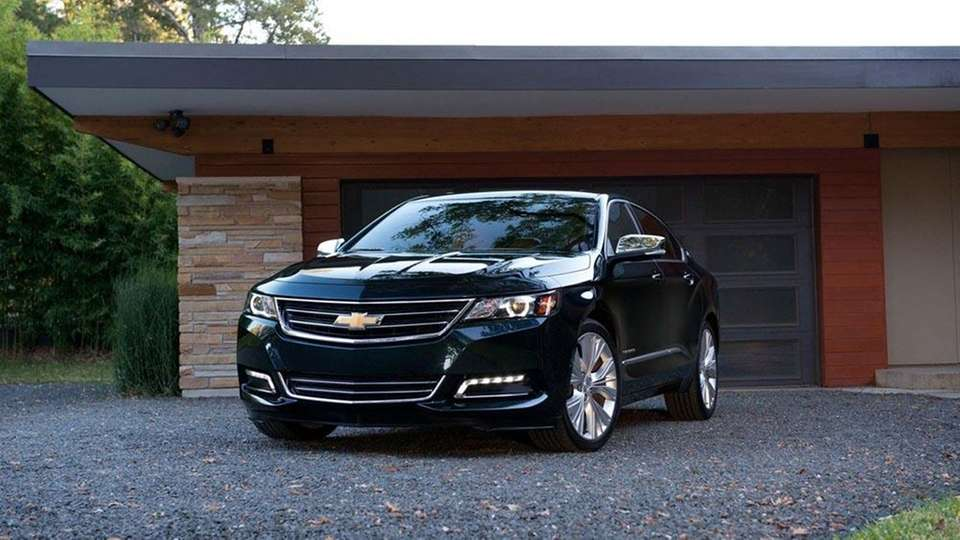 Winning best large car, the Chevrolet Impala