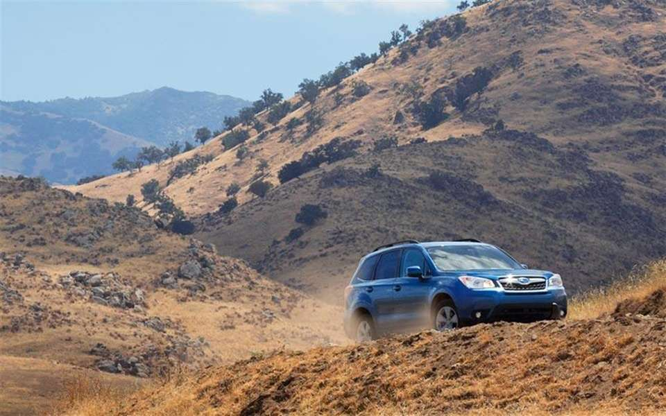 Consumer Reports picked the 2015 Subaru Forester as