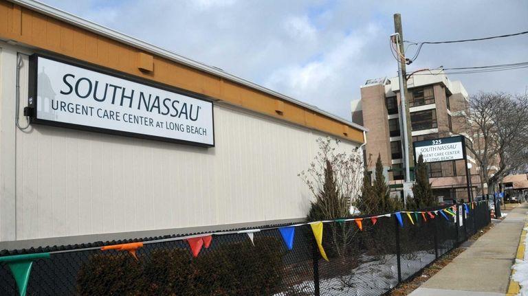 The exterior of South Nassau Urgent Care Center