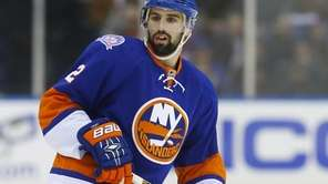 Nick Leddy of the New York Islanders skates