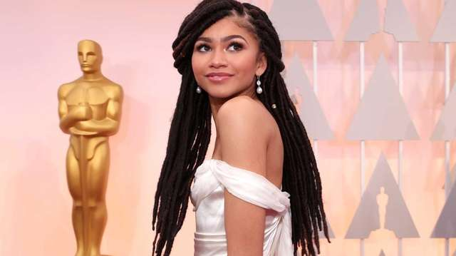 Zendaya attends the 87th annual Academy Awards at