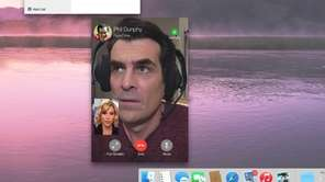 Claire Dunphy, left, and Phil Dunphy, in a