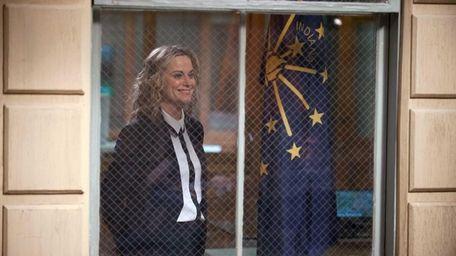 Amy Poehler as Leslie Knope in
