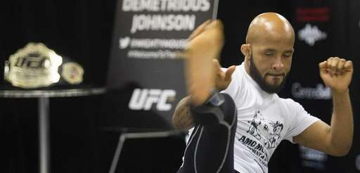 UFC flyweight champion Demetrious Johnson from the United