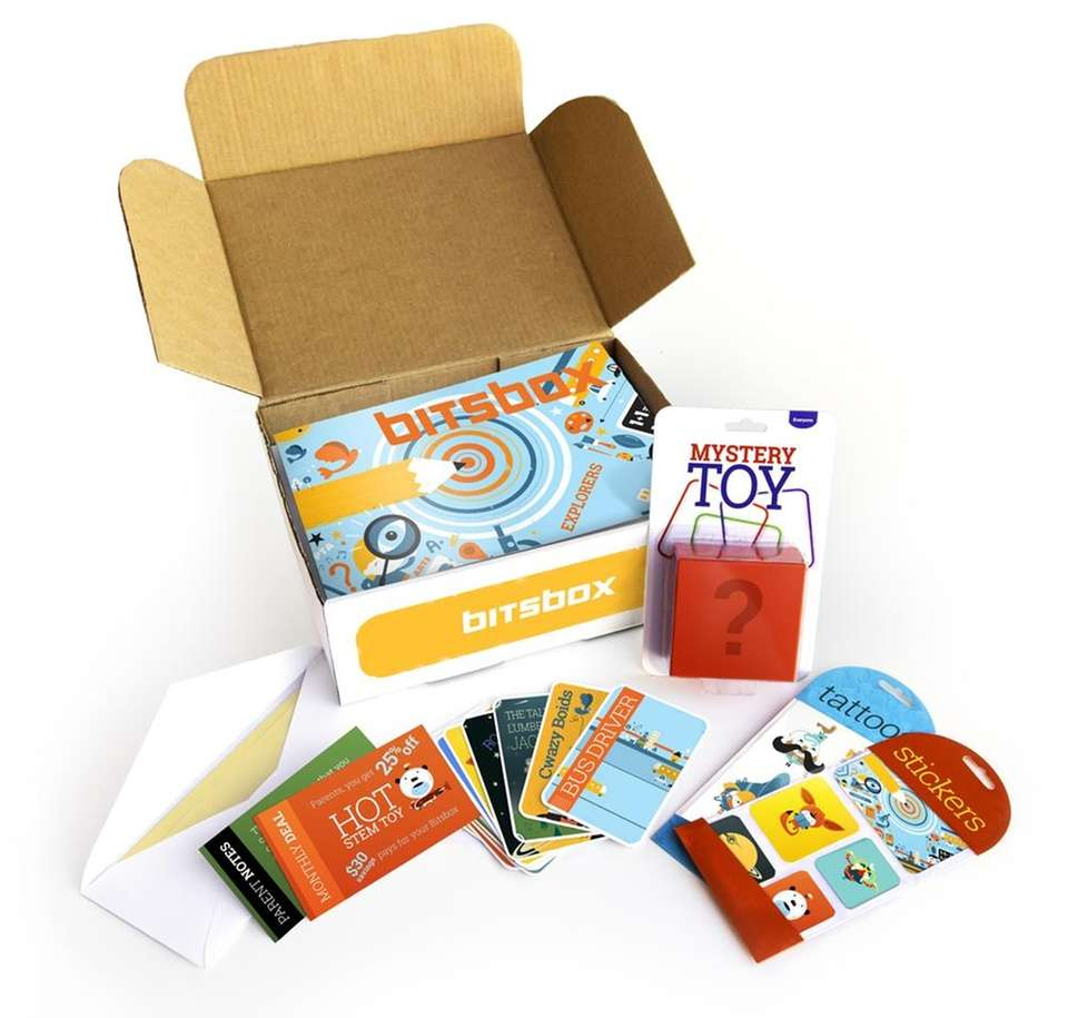 BitsBox ($30; bitsbox.com) BEST FOR Ages 7 and