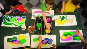 Inspired by the art of Willen de Kooning,