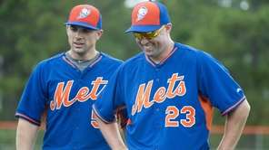 Mets third baseman David Wright and outfielder Michael
