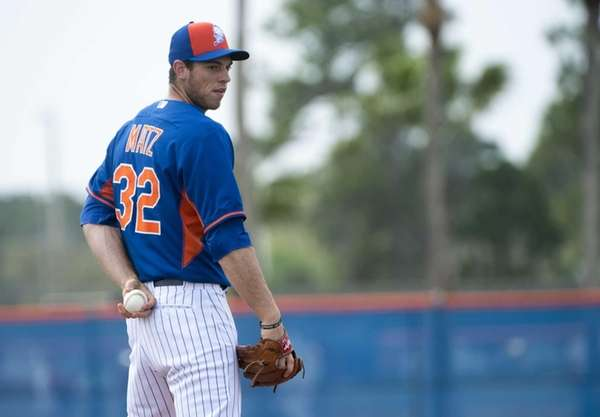 Steven Matz, 23, was born in Stony Brook