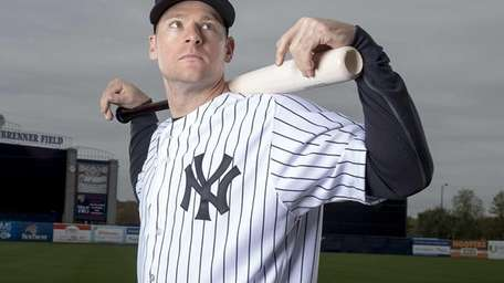 New York Yankees' Chase Headley poses at George