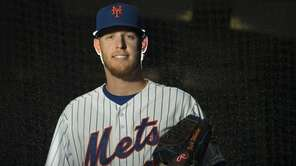 Mets pitcher Zack Wheeler is photographed during photo