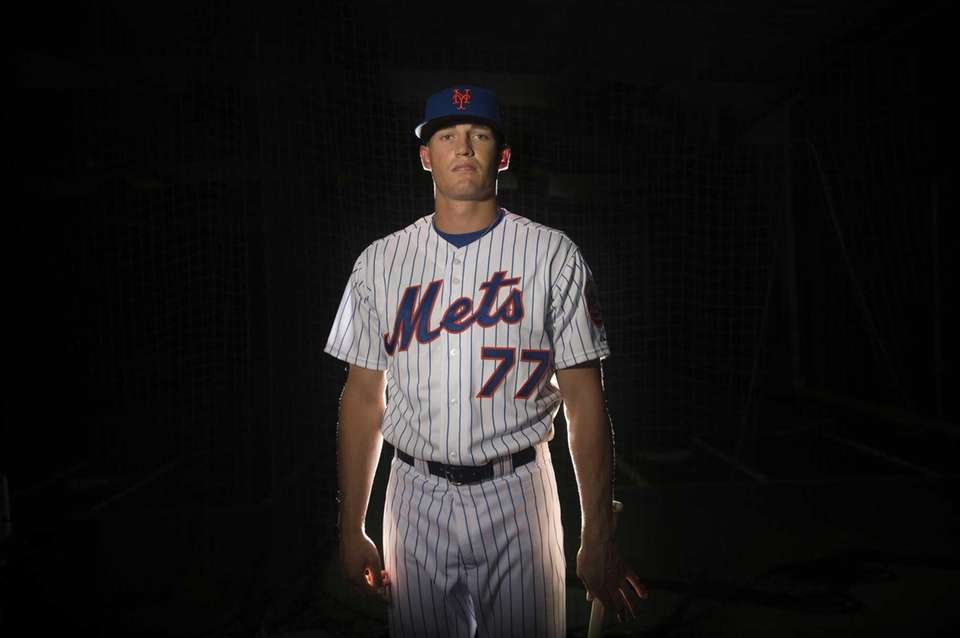 Mets outfielder Brandon Nimmo is photographed during photo