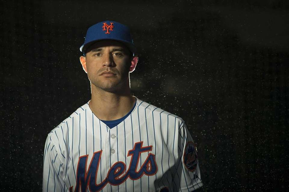 Mets pitcher Carlos Torres is photographed during photo