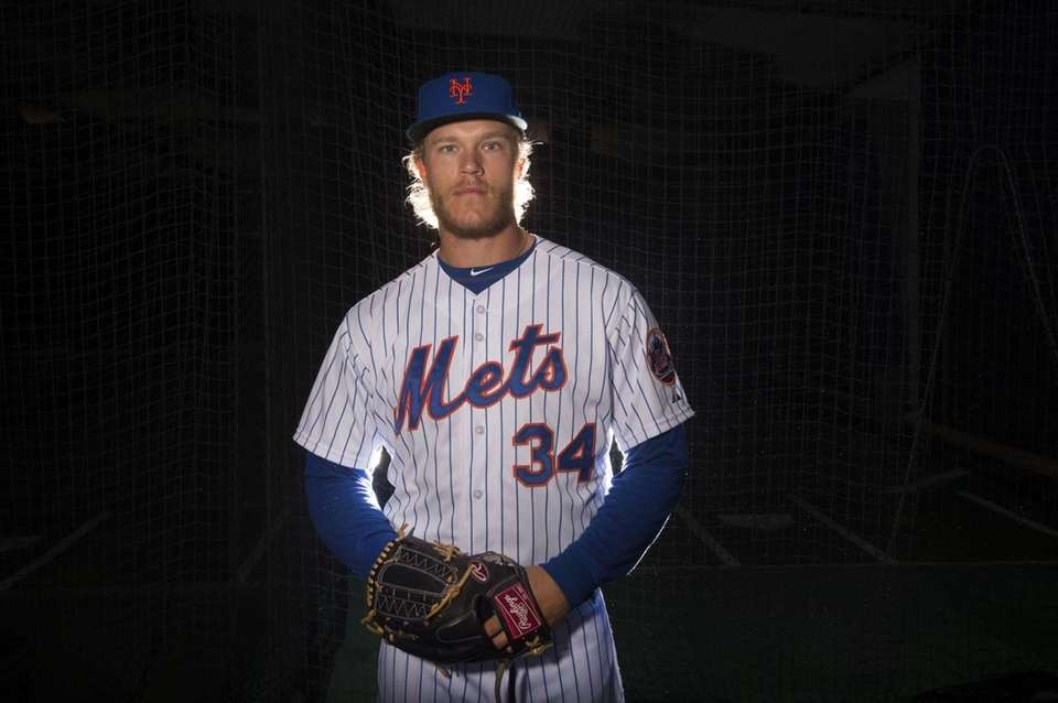Mets pitcher Noah Syndergaard is photographed during photo
