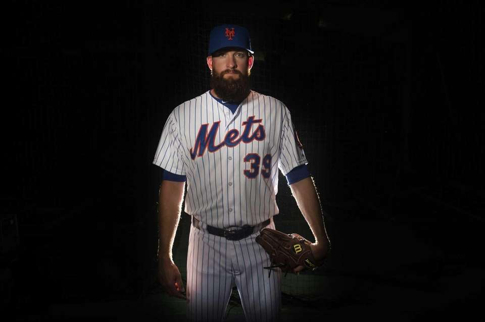 Mets pitcher Bobby Parnell is photographed during photo