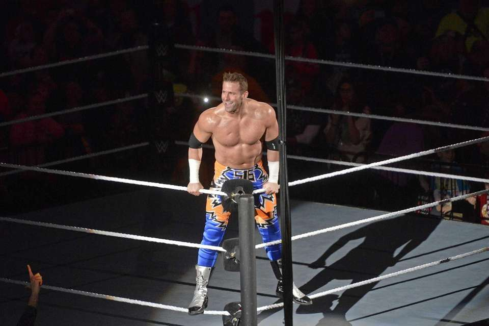 WWE Road to WrestleMania wrestler Zack Ryder at