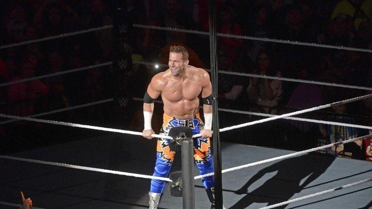WWE Road to WrestleMania wrestler Zack Ryder at
