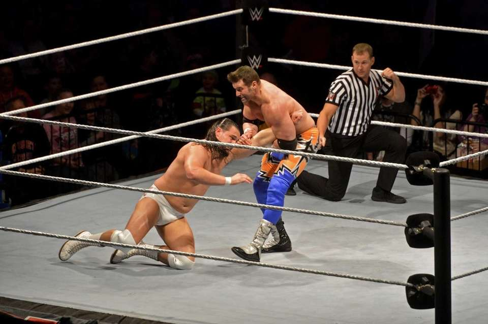 WWE Road to WrestleMania wrestlers Zack Ryder (right)
