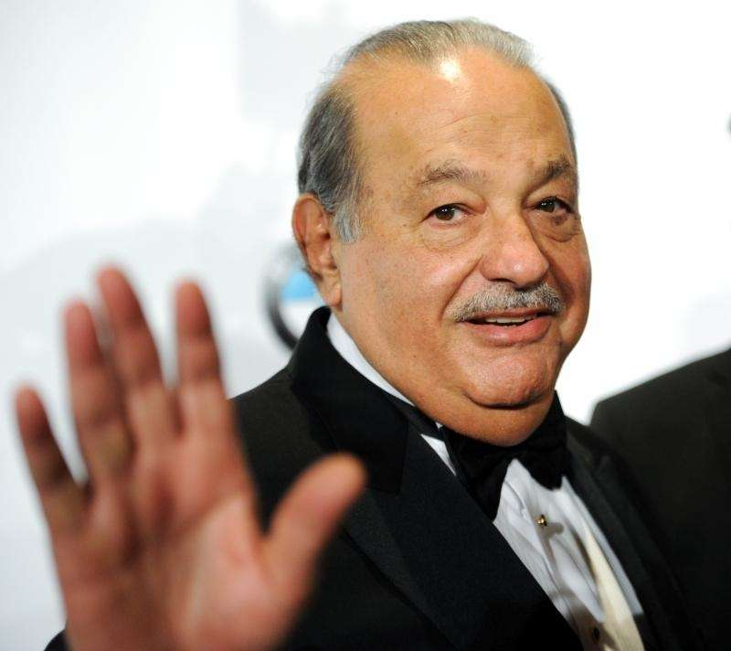 Mexican billionaire telecom executive Carlos Slim is worth