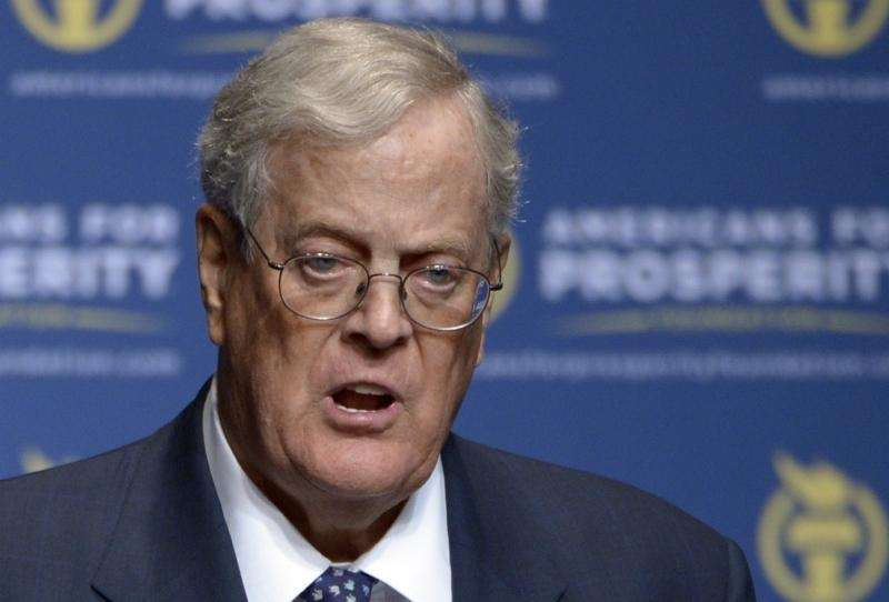 David Koch, the Americans for Prosperity Foundation chairman,
