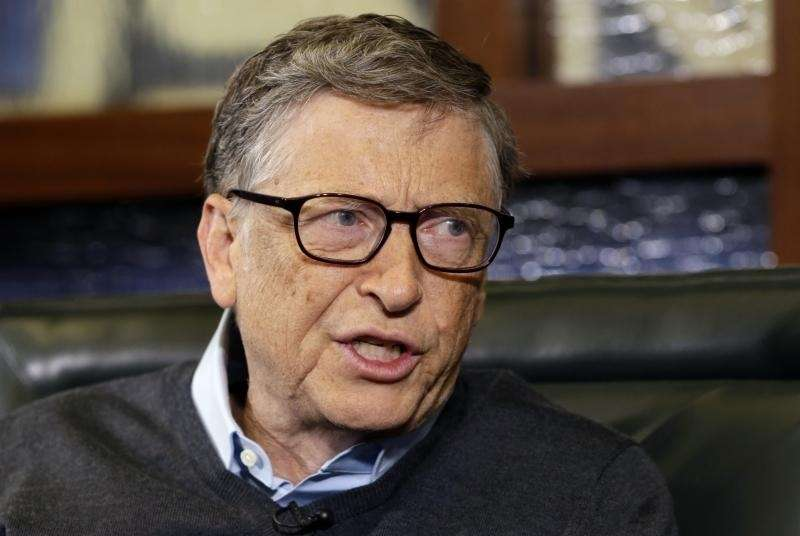 Bill Gates is the world's richest person, according