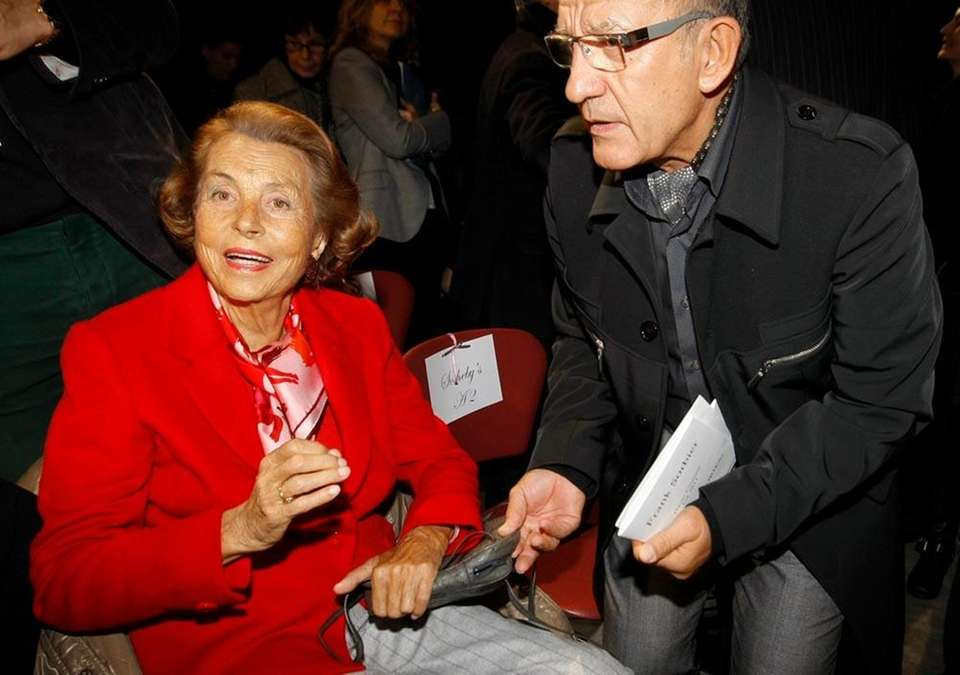 Heiress to L'Oreal, Liliane Bettencourt is worth $40.1