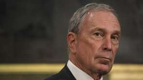 Michael Bloomberg, former New York City mayor, is