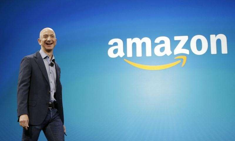 Amazon CEO Jeff Bezos is worth $34.8 billion