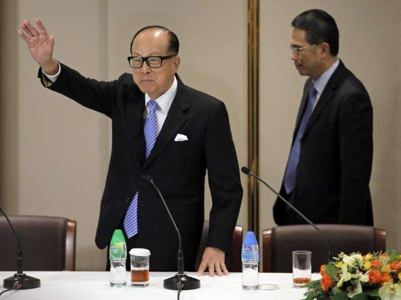 Hong Kong tycoon Li Ka-shing is worth $33.3