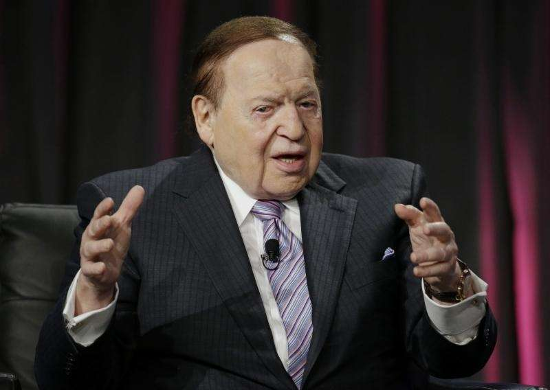 Las Vegas Sands Corp. CEO Sheldon Adelson is
