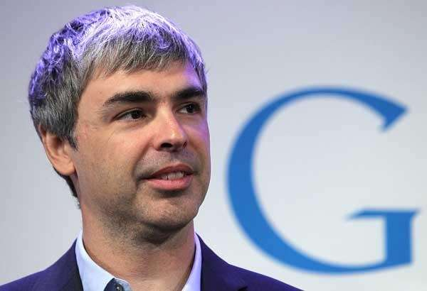Google co-founder and CEO Larry Page is worth