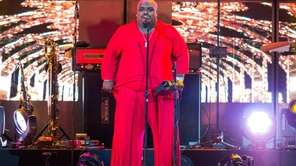 CeeLo Green performs at the Honda Center in