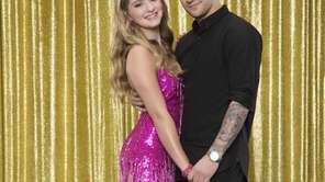 Willow Shields is partnered with Mark Ballas for